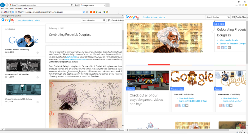 ie-split Screen shot